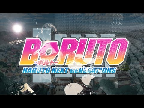 【 BORUTO-ボルト-】KANA-BOON - バトンロード フル を叩いてみた/ NARUTO NEXT GENERATIONS OP Baton Road full Drum Cover