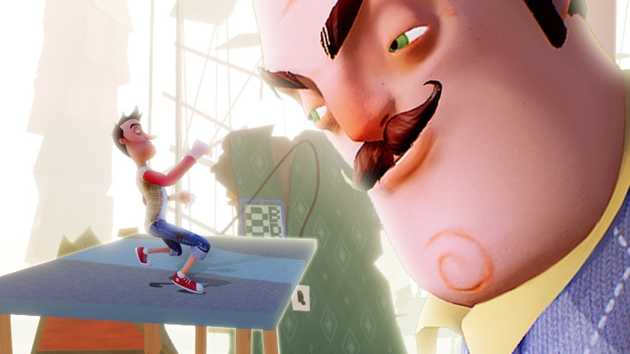 IT'S TIME WE END THIS!!    Hello Neighbor (BETA 3 BOSS ENDING)