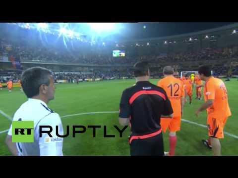 Turkey: Erdogan scores hat-trick in friendly match