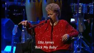 Watch Etta James Rock Me Baby video
