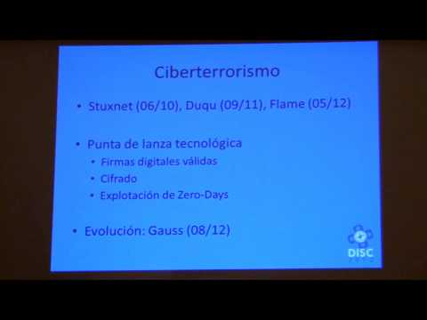 DISC 2012 Malware: Tendencias y perspectivas 3/3
