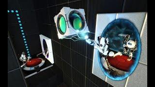 Portal 2. Играла давно. Попробуем пройти быстренько.