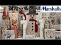 MARSHALLS CHRISTMAS DECORATIONS SHOP WITH ME 2018