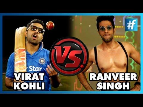 Virat Kohli VS Ranveer Singh | Fame Rap Battle | #WontGiveItBack