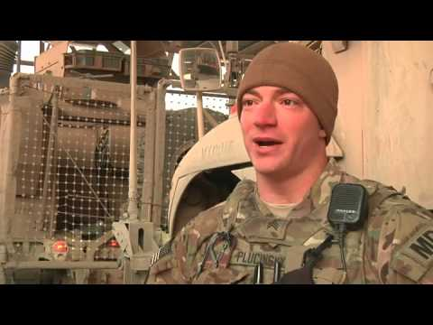 U.S. Army 508th Military Police Company performs driving missions in Kabul, Afghanistan