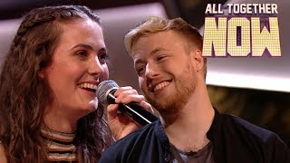 Cute couple Liv & Oli make The 100 cry after on-stage kiss and duet | All Together Now