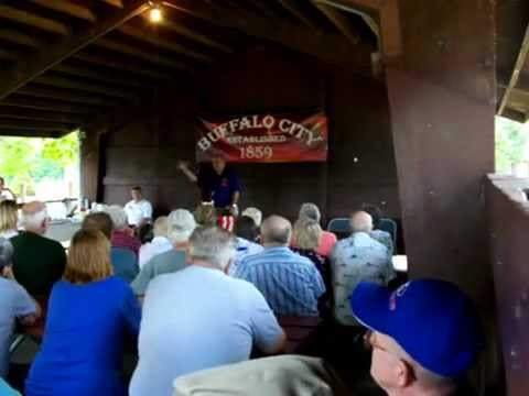 Jim Doyle Celebrating Buffalo City, Wisconsin's Sesquicentennial (part 1)