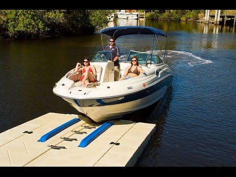 Как сделать стоянку для лодки