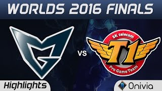 SSG vs SKT Highlights Game 5 Highlights Worlds 2016 Finals Samsung Galaxy vs SK Telecom T1