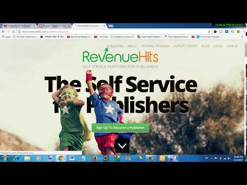 [HINDI] My views on earning money with Revenuehits ad network