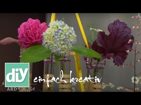 Blumenkronleuchter | DIY einfach kreativ