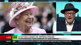 Ruling against parliamentary suspension 'affront' to Queen – Galloway