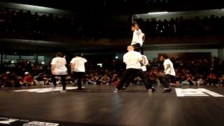 The Notorious IBE 2011 - Illusionary RockaZ Crew Performance