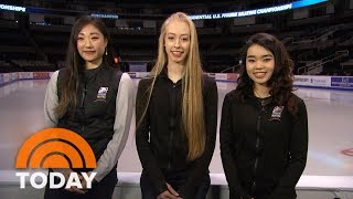 Meet The Ladies Of The US Olympic Figure Skating Team Heading To South Korea  TODAY