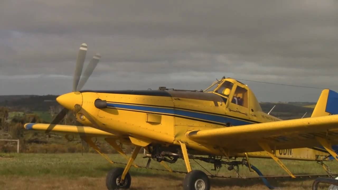 Air Tractor 502 The Best Crop Duster Flying You Will Ever