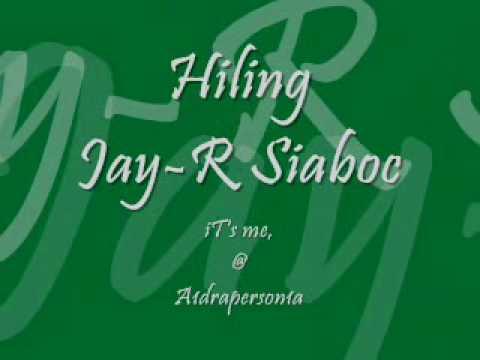 Jay-r Siaboc - Hiling