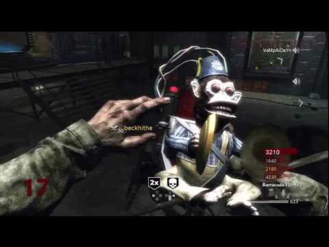 Call of Duty: World at War Nazi Zombies Der Riese 4-Player Strategy (Rounds 16-17)