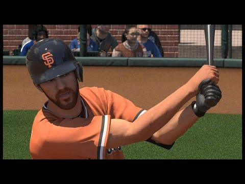Can I Recreate Madison Bumgarners Home Run Off Clayton Kershaw?? MLB The Show 16 Challenge