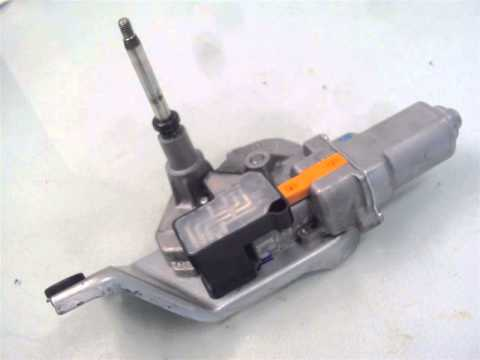Windshield Wiper Motor Replacement How To Install A