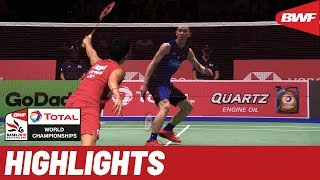 TOTAL BWF World Championships 2019 | Quarterfinals MS Highlights | BWF 2019