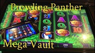 Prowling Panther - FREE GAME BONUS - Mega Vault (no bonus 😢)
