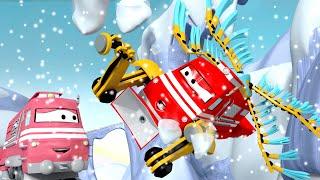 Xe lửa Troy - Xe lửa trên không - Thành phố xe 🚉 những bộ phim hoạt hình về xe tải cho thiếu nhi