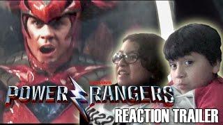 POWER RANGERS 2017 Movie Trailer 2 REACTION!!!