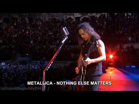 Metallica - Metallica - Nothing Else Matters (Live)