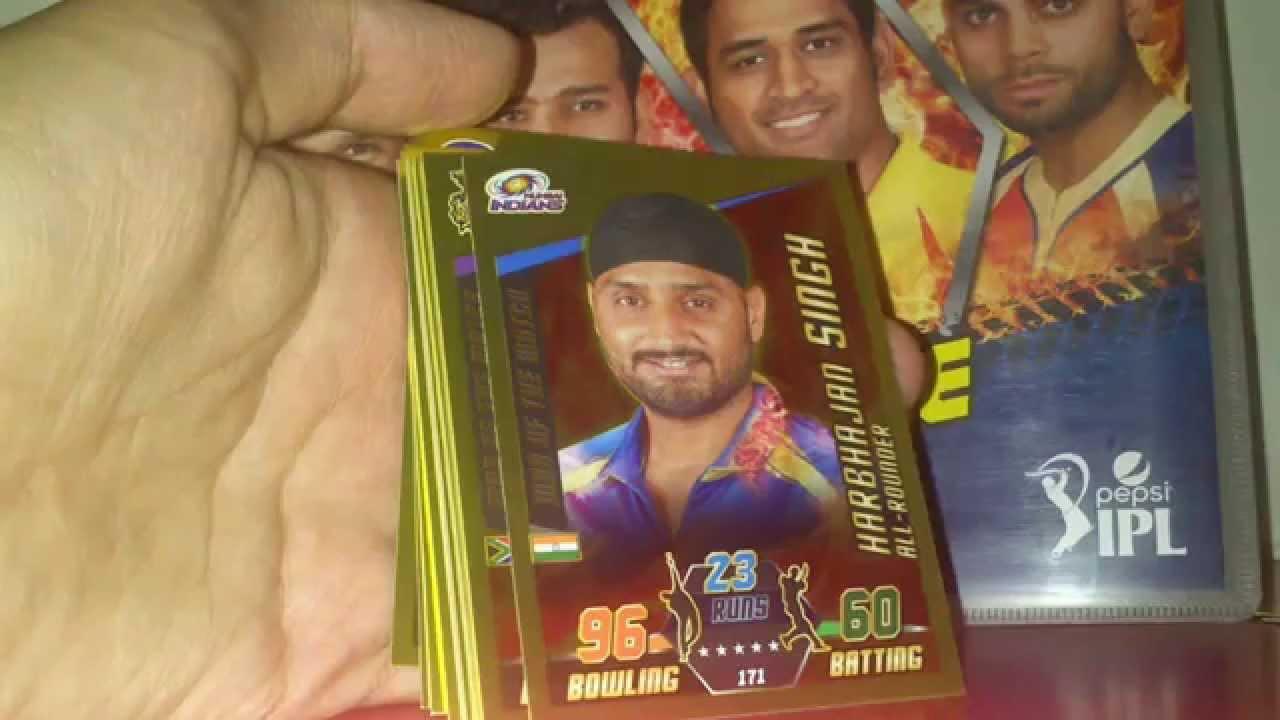 Cricket Attax Cards 2015 Ipl Ipl 14-15 Cricket Attax Gold