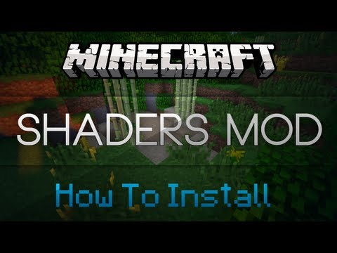 Minecraft: How to Install Shaders Mod (Without Magic Launcher) Works with 1.5.2