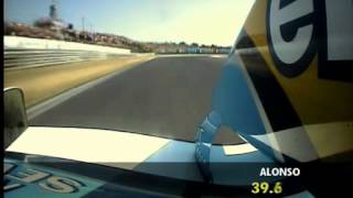 Fernando Alonso F1 2003 Pole Lap Hungarian Gp