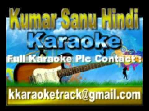 Saathiya Bin Tere Dil Maane Na Karaoke Himmat 1996 AlkaKumar...