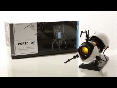 Portal 2 Miniature Replica Portal Gun from ThinkGeek