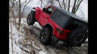 Winter Off-Road: Jeeps, Toyotas and Land Rover Defender