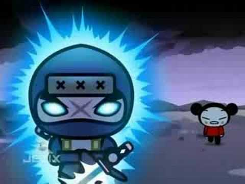 Pucca Funny Love Season 1-Ep9-Pt2-High Voltage Ninjas