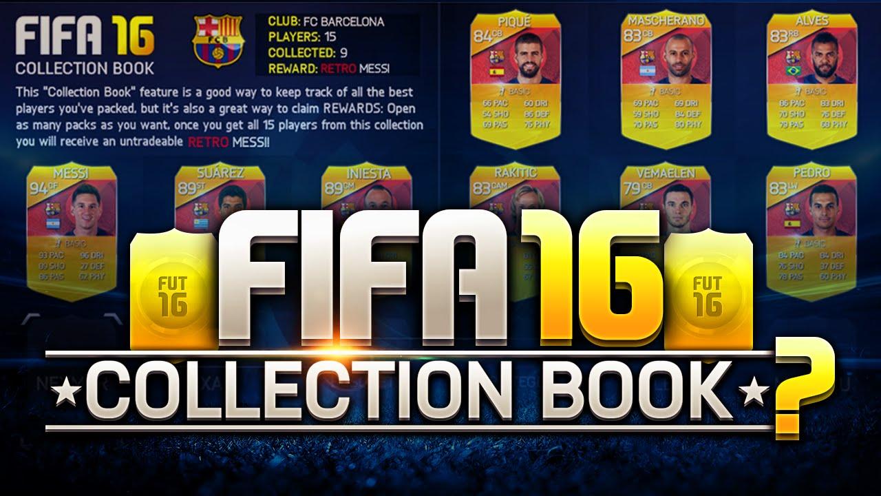 fifa 16 players card list book