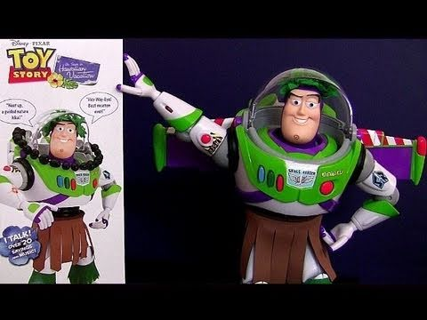 Hawaiian Vacation Buzz Lightyear Toy Story talking action figure Disney Pixar review Blucollection