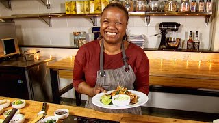 Chef Makini Howell goes south of the border with her vegan quesadillas - Makini's Kitchen - KING 5 E