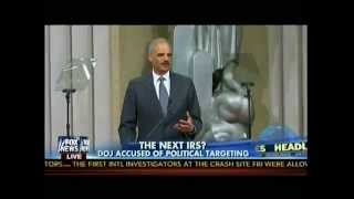 The Next IRS? - DOJ Scandal? - DOJ  Accused Of Political Targeting - Fox & Friends