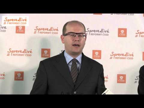 B.Sobotka: Nečasova vláda musí převzít svůj díl viny za chybné čerpání peněz z fondů EU