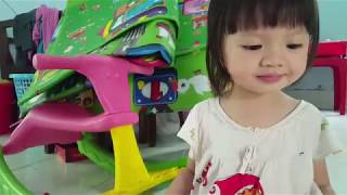 Baby Shark Remix Song with Dog Sound | KN Boong Candy Learn Colors