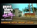 GTA Vice City - Sunshine Autos Import Garage [Grand Theft Auto Trophy]