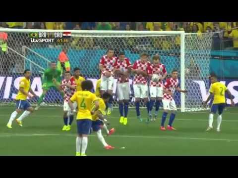 Neymar vs Croatia World Cup 2014 HD