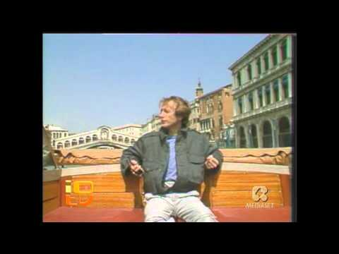 Robin Gibb - Boys do Fall In Love ( Rare Video with Robin Singing over Venecia Channels ) HD