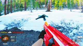 Nerf War: Call of Duty Gun Game | First Person Shooter