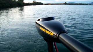 Trolling - Minn Kota Endura 30 on Intex Challenger 2 inflatable boat