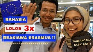 APA AJA SIH ISI MOTIVATION LETTER?? // Wawancara EKSKLUSIF sama PERAIH 3x BEASISWA ERASMUS MUNDUS!!