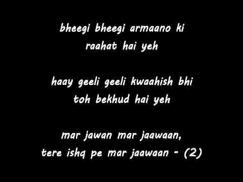Mar Jawan - Fashion - badmash remix with Lyrics. By Sameer Butt...