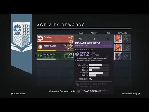 Destiny Weekly Nightfall Strike -