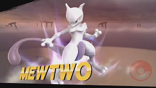 Super Smash Bros. Wii U Mewtwo (Victory Animations, Final Smash, Taunts...)